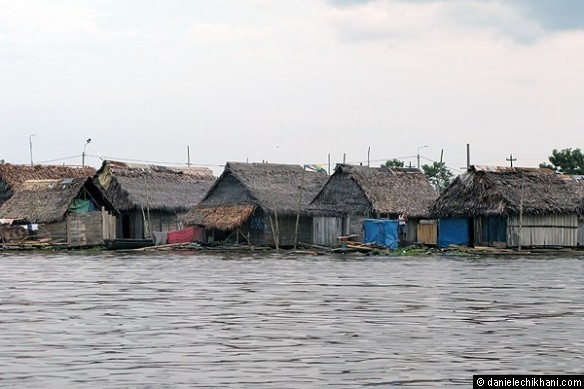 Floating village, Belen, Iquitos